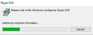 Конфигурирование Скайп