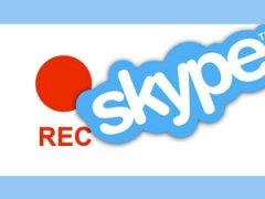 запись аудио и видео в Скайпе