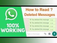 удаленные сообщения в WhatsApp